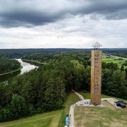 Birštono apžvalgos bokšto atidarymas  © T. Biliūno/Fotobanko nuotr.