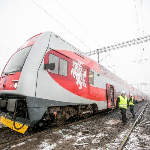Atnaujintas traukinių eismas tarp Vilniaus ir Kauno