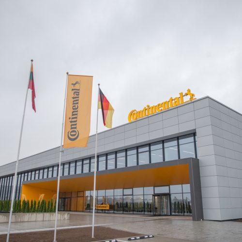"""Lietuvoje pradėjo veikti """"Continental"""" gamykla  © """"Continental"""" nuotr."""