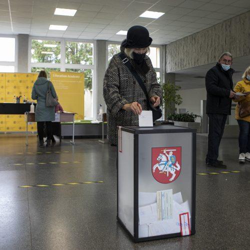 Lietuva renka naują Seimą (balsavimas rinkimų antrajame ture)