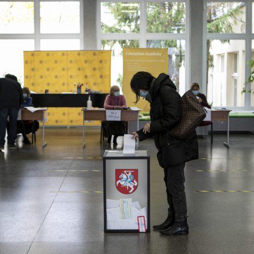 Lietuva renka naują Seimą <span style=color:red;>(balsavimas rinkimų antrajame ture)</span>  © P. Peleckio / Fotobanko nuotr.