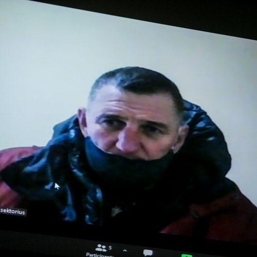 Teismas paskelbė, kad H. Daktaras lieka įkalintas iki gyvo galvos