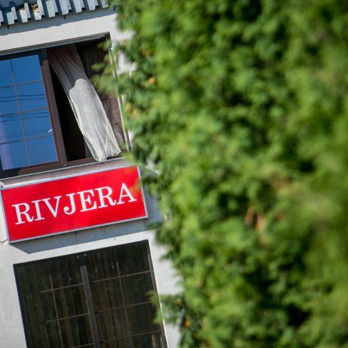 "Pakaunėje atvira liepsna degė viešbutis ""Rivjera"""