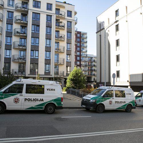 Vilniuje policija sulaikė neblaivų iš kovinio ginklo šaudžiusį vyrą