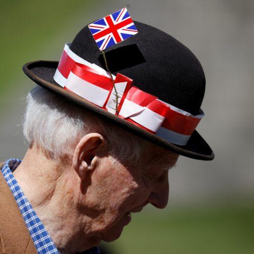 Britai ir visas pasaulis išlydėjo princą Philipą į paskutinę kelionę  © Scanpix, EPA-ELTA nuotr.
