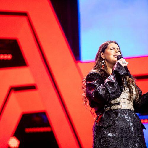 """Antroji nacionalinės atrankos į """"Euroviziją"""" laida"""