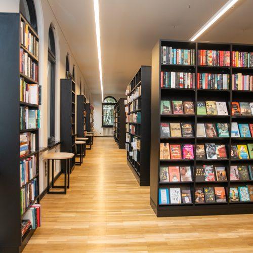 Po pertraukos atsinaujino Vinco Kudirkos biblioteka