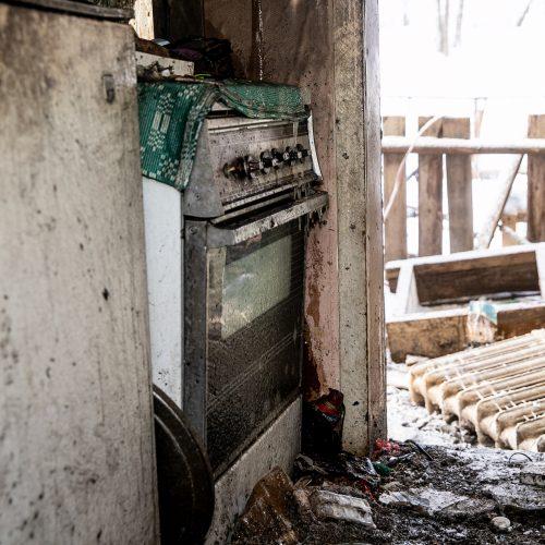 Du gaisrai per vieną dieną toje pačioje vietoje Aleksote  © Justinos Lasauskaitės nuotr.