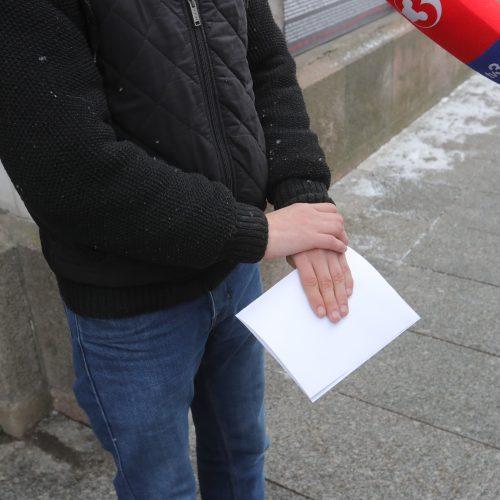 Teismas dėl devynmetės iš Kauno įvaikinimo  © Butauto Barausko nuotr.