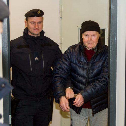 Konkurento nužudymu kaltinamo pensininko teismas