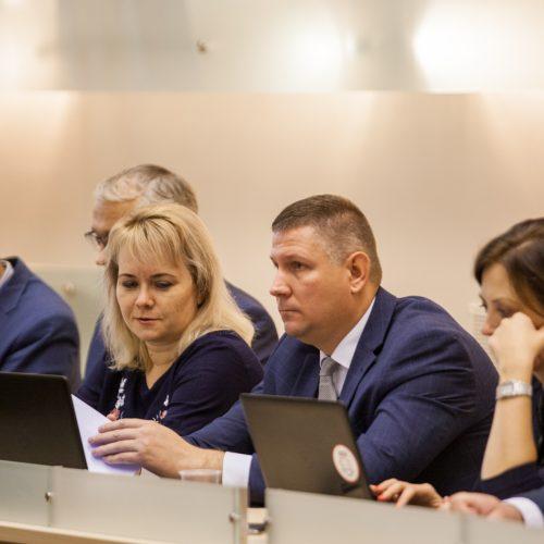 Kauno miesto tarybos posėdis <span style=color:red;>(2018 lapkričio 13 d.)</span>  &#169; Laimio Steponavičiaus nuotr.