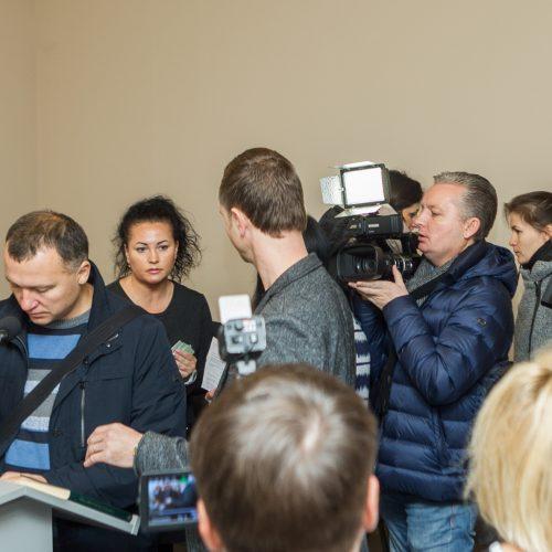 E. Kručinskienės smurto prieš sūnų byla  © Laimio Steponavičiaus nuotr.