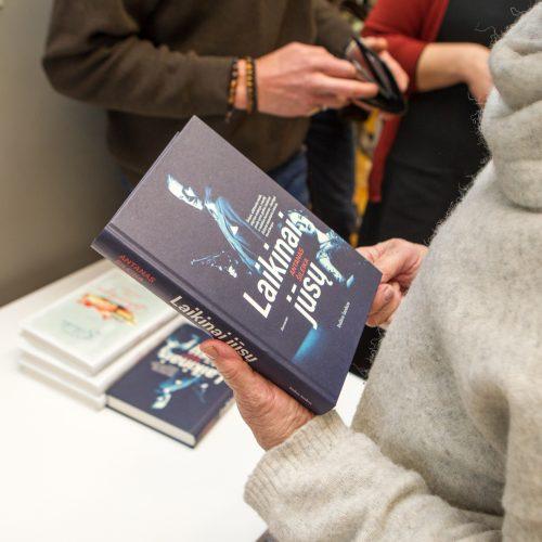 """Antano Šileikos knygos """"Laikinai Jūsų"""" pristatymas  © Laimio Steponavičiaus nuotr."""