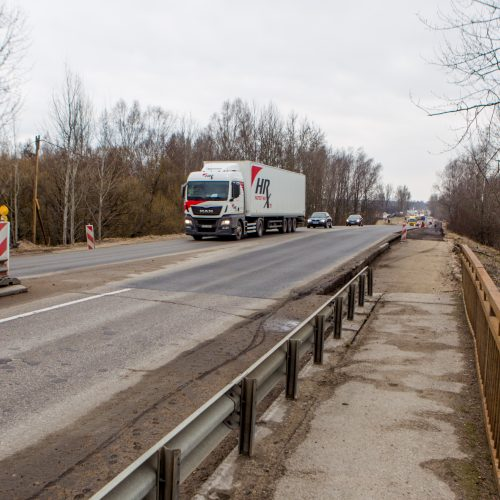 Ateities plento viaduko rekonstrukcija  © Laimio Steponavičiaus nuotr.