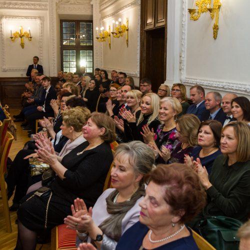 Rotušėje – iškilmingas greitosios medicinos pagalbos stoties darbuotojų pagerbimas  © Laimio Steponavičiaus nuotr.
