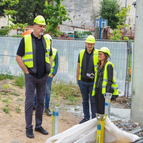 Lietuvos krepšinio namų statybos