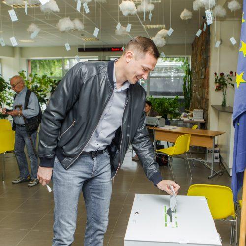 Lietuvos prezidento ir EP atstovų rinkimai Kaune