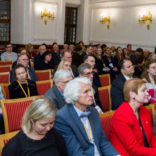 Pasaulio lietuvių mokslo simpoziumo atidarymas  © Laimio Steponavičiaus nuotr.