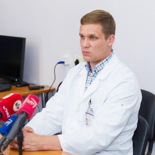 Sumušta jurbarkietė išleista iš Kauno klinikų  © Laimio Steponavičiaus nuotr.
