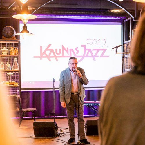 """""""Kaunas Jazz"""" koncertas """"Volfo Engelman studijoje"""""""