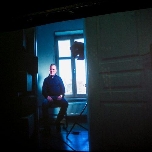 """Dailiaus Dargio dokumentinio filmo """"Pirmieji kovotojai su mafija"""" pristatymas  © Vilmanto Raupelio nuotr."""