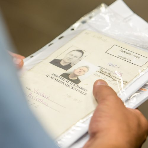Teikimo dėl bausmės V. Beleckui pakeitimo svarstymas
