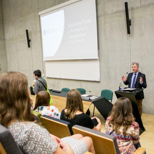 """VDU """"Baltijos vasaros universiteto"""" atidarymas  © Vilmanto Raupelio nuotr."""