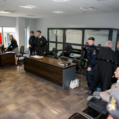 Į teismą atvesti įtariami D. Bugavičiaus žudikai  © Vilmanto Raupelio nuotr.