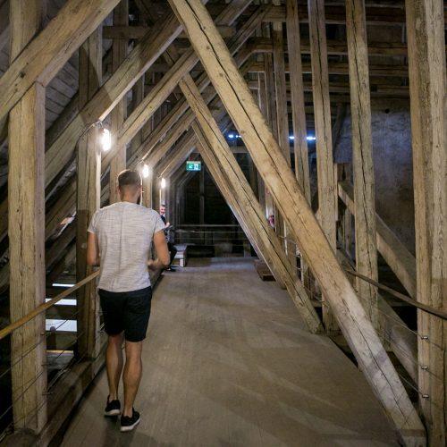 Kauno rotušė ruošiama rekonstrukcijai  © Vilmanto Raupelio nuotr.