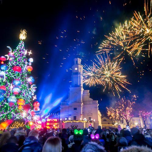Kaunas sutinka 2020-uosius metus