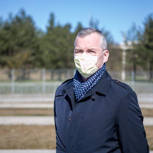 Antrasis koronaviruso patikros punktas Kaune  © Vilmanto Raupelio nuotr.