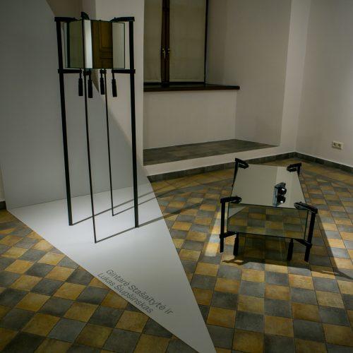 """Parodos """"Skaidri erdvė"""" atidarymas ir Manto Mikutavičiaus karšto stiklo pasirodymas  © Vilmanto Raupelio nuotr."""