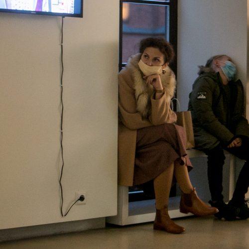"""Atidaryta D. Stankevičiaus paroda """"At the Bus Stop""""  © Vilmanto Raupelio nuotr."""