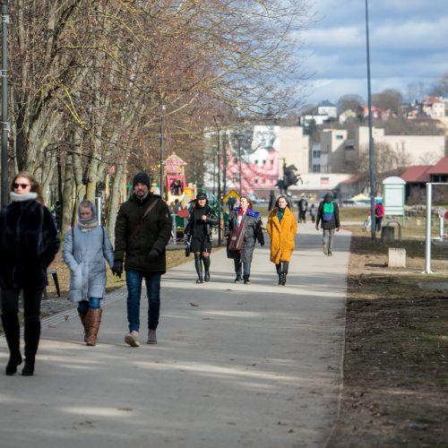 Pasivaikščiojimas po Kauno senamiestį  © Vilmanto Raupelio nuotr.