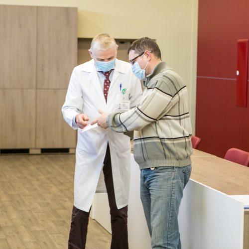 LSMU Kauno ligoninė pagerbė savanorius