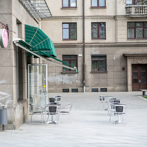Kauno lauko kavinės, restoranai ir barai atnaujina veiklą  © Vilmanto Raupelio nuotr.