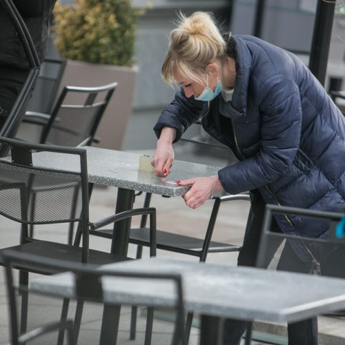 Kauno lauko kavinės, restoranai ir barai atnaujina veiklą