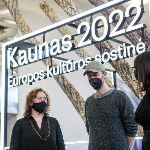 """""""Kaunas 2022"""" ir """"Akropolis"""" pasirašė bendradarbiavimo sutartį"""