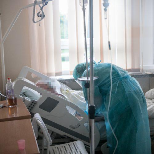 LSMU Kauno ligoninėje daugėja COVID-19 pacientų  © Vilmanto Raupelio nuotr.
