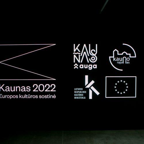 Pristatyta Kauno – Europos kultūros sostinės programa  © Vilmanto Raupelio nuotr.