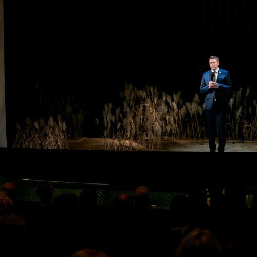 Kauno valstybiniame muzikiniame teatre – Lietuvos profesionalaus teatro šimtmečio minėjimas  © Vilmanto Raupelio nuotr.
