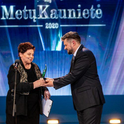 """Uždaros """"Metų kaunietės"""" rinkimų apdovanojimų iškilmės  © Justinos Lasauskaitės nuotr. / Vilmanto Raupelio nuotr."""
