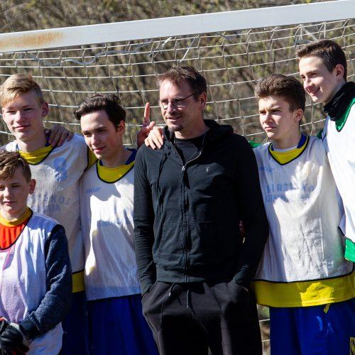 Gatvės vaikų dienos futbolo turnyras Vilniuje