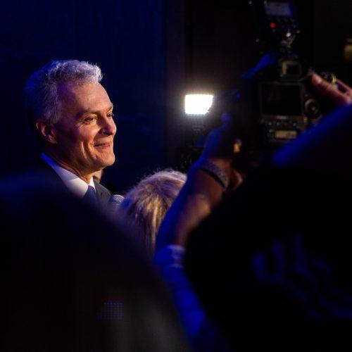 G. Nausėdos rinkimų štabas <span style=color:red;>(antrasis turas)</span>  © P. Peleckio / Fotobanko nuotr.