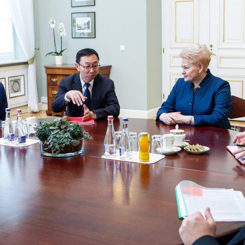 Lietuvoje lankosi Tarptautinio valiutos fondo vadovės pavaduotojas