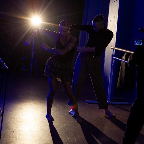 "Projekto ""Šokio revoliucija"" filmavimas  © P. Peleckio / Fotobanko nuotr."