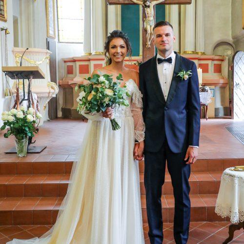 Krepšininkų G. Jasiunskaitės ir T. Dimšos vestuvės  © T. Biliūno / Fotobanko nuotr.