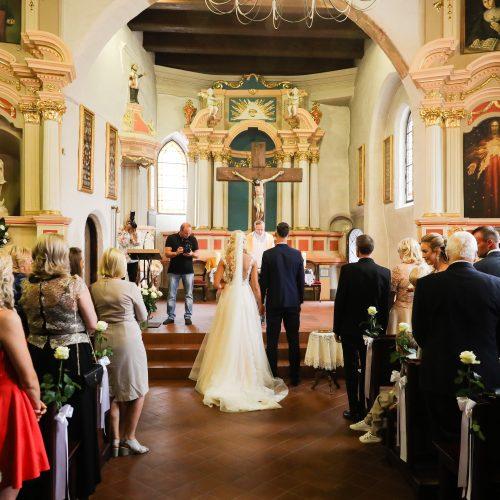 Krepšininkų L. Svarytės ir T. Miškinio vestuvės  © T. Biliūno / Fotobanko nuotr.