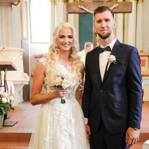 Krepšininkų L. Svarytės ir T. Miškinio vestuvės
