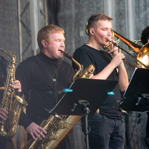 V. Baumilos ir pučiamųjų orkestro pasirodymas  © G. Skaraitienės / Fotobanko nuotr.